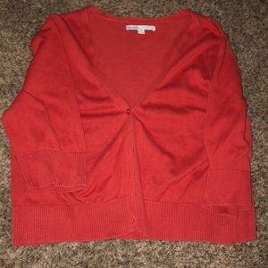 Old Navy Cropped Cardigan- Size XXL